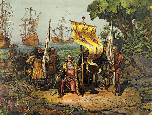 Покорение новых земель испанцами