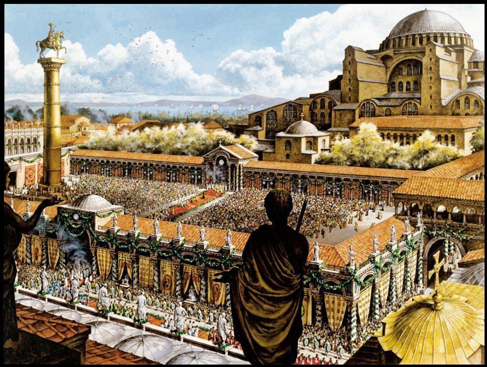 Константинополь Византийской империи