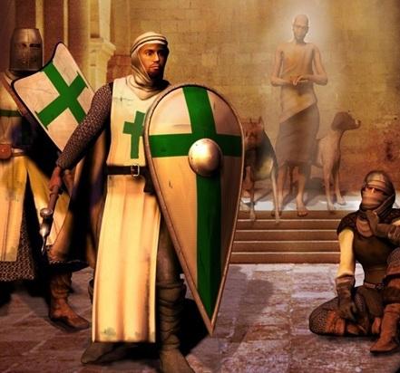 Рыцарь ордена Святого Лазаря