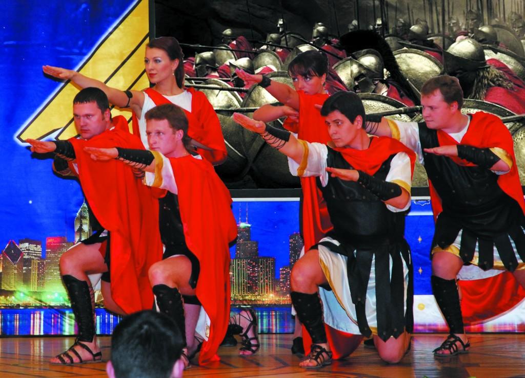 Танец Спартанцев